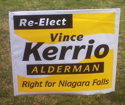 Bag Lawn Sign