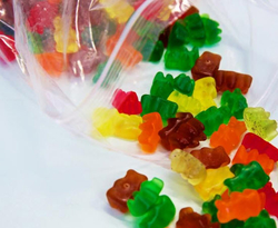 Candy Pillow Packages Gummy Bears