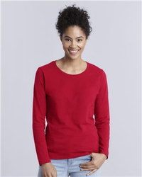 Gildan Women's Heavy Cotton Long Sleeve T-Shirt