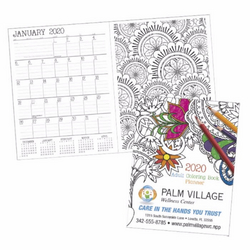 Adult Colouring Book Planner
