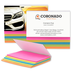 5 Colour Sticky Notes
