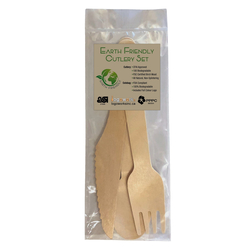 Earth Friendly Cutlery 3 Piece Set - Earth Friendly Collection