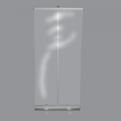 Pop Up Clear Banner Shield 48x78