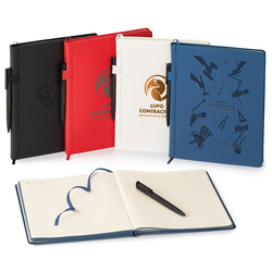BOSTON - HARD COVER JOURNAL/PEN COMBO